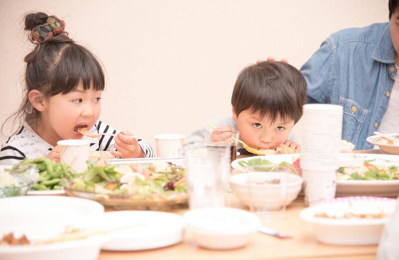 家族で美味しいご飯