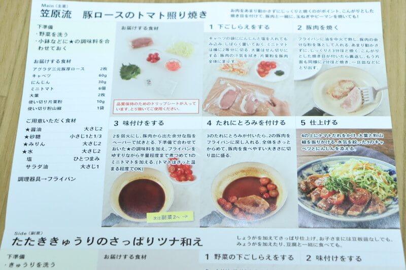 豚ロースのトマト照り焼きのレシピ