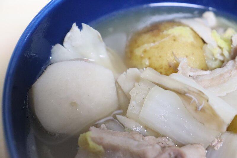 ベビー白菜と秋野菜の鍋