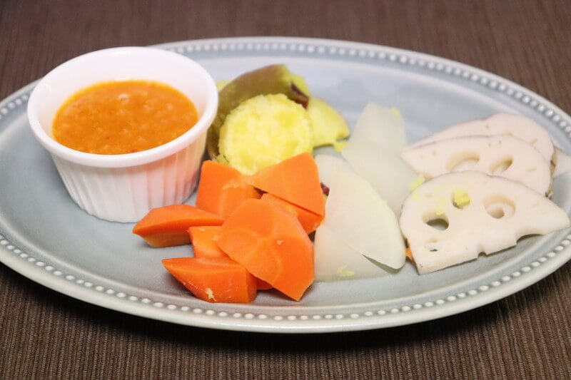 温野菜のディップソース