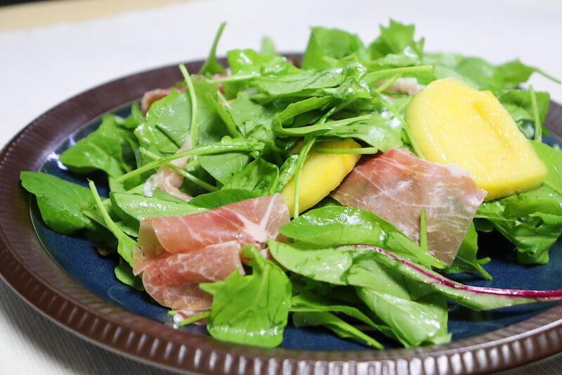 KitOisixの生ハムと柿サラダの特徴