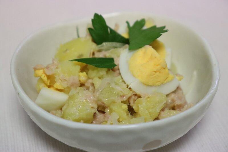 ツナと卵のほくほくポテトサラダ